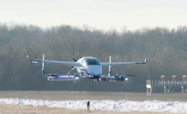 העתיד הגיע? מטוס נוסעים ללא טייס (צילום: בואינג, חדשות)