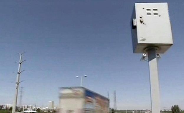 מכמונת מהירות בכביש (צילום: חדשות 2)