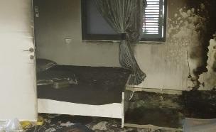 שני ילדים נהרגו בשרפה (צילום: כיבוי והצלה מחוז מרכז, חדשות)