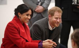 מייגן מרקל והנסיך הארי (צילום: WPA Pool / Pool /Getty Images)
