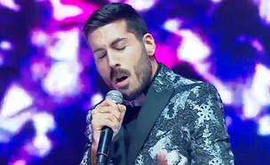 """קובי מרימי – """"Diamonds"""" (צילום: מתוך """"הכוכב הבא לאירוויזיון 2019"""", שידורי קשת)"""