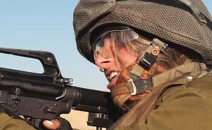 """לוחמת, שירות נשים בצה""""ל (צילום: החדשות)"""