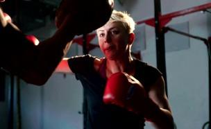 שגרת האימונים של אולגה רובין (צילום: mako)