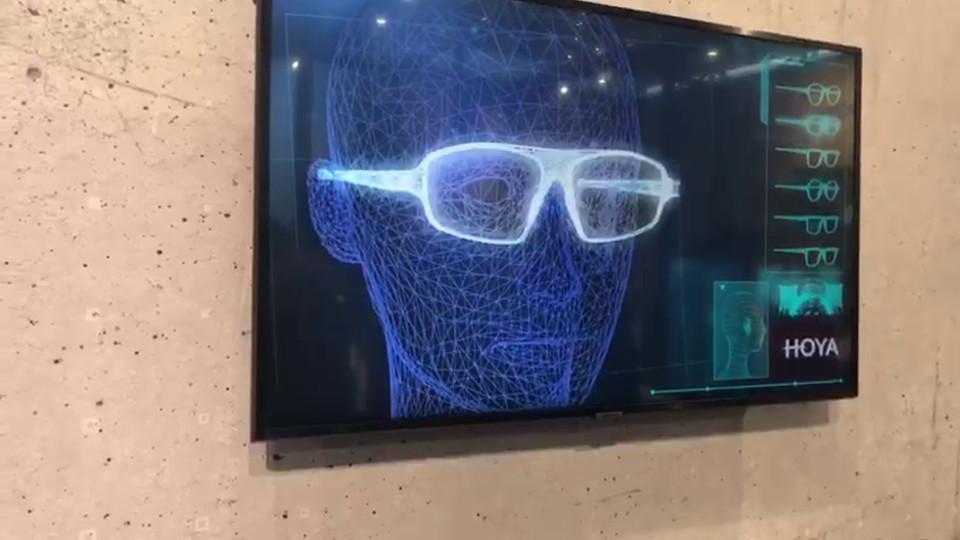 תערוכת OPTI: משקפיים בהדפסת תלת ממד  (צילום: מכבי ממבט ראשון)