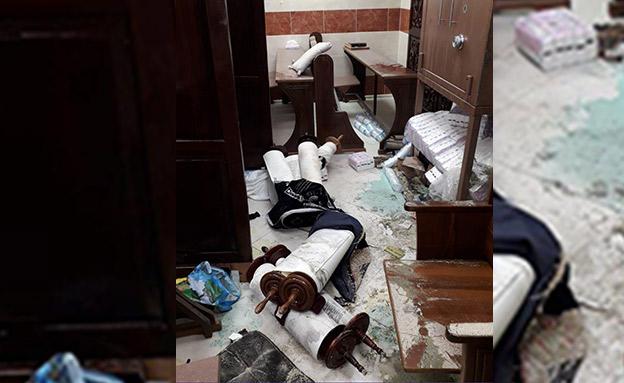 בית הכנסת בקריית יובל (צילום: חדשות)