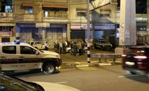 זירת התאונה בנצרת (צילום: חדשות 2)