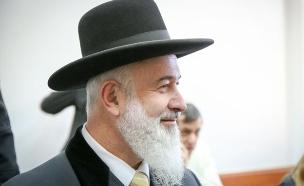 הרב יונה מצגר (צילום: הלל מאיר/TPS, חדשות)