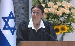 נשיאת בית המשפט העליון, השופטת אסתר חיות (צילום: החדשות)