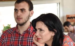 עינת נתן ובנה (צילום: צילום ביתי)