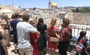 """הדוח נגד """"תיירות יהודית"""", ארכיון (צילום: החדשות)"""