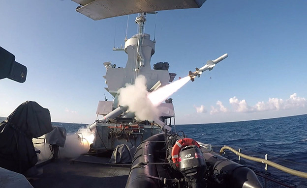 """חיל הים בתרגיל """"ים הזעם"""" (צילום: דובר צה""""ל, חדשות)"""