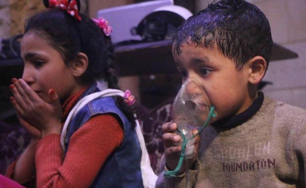 סוריה, גז עצבים, סארין, אסד, מתקפה כימית (צילום: חדשות)