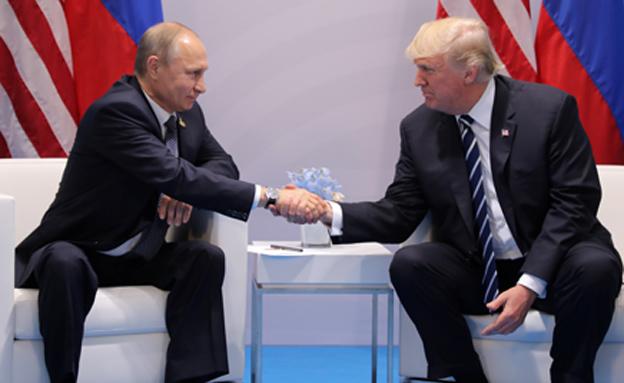 טראמפ ופוטין, ארכיון (צילום: רויטרס, חדשות)