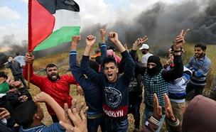 מהומות ברצועה (ארכיון) (צילום: רויטרס, חדשות)