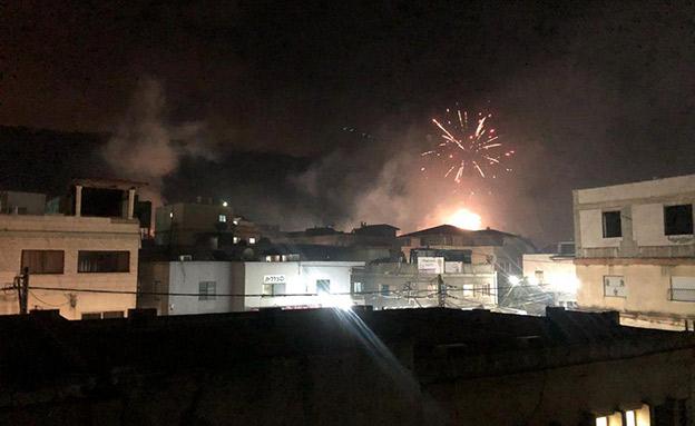 חודשו המהומות בכפר מנדא; 7 נעצרו (צילום: החדשות)