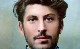 בצעירותו (צילום: הספר Josef Wissarionowitsch Stalin - Kurze Lebensbeschreibung)