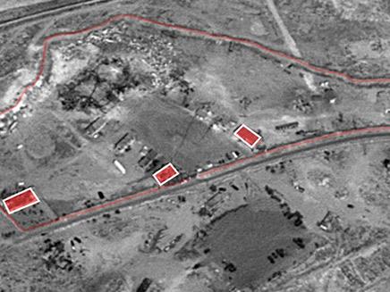 אתר לוגיסטי אירני בבסיס צבא סוריה