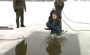 מסלול טירונות של חיילים בליטא (צילום: ENEX, חדשות)