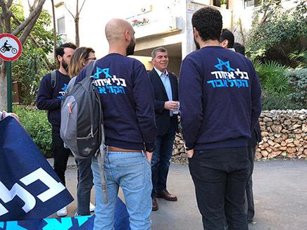 פעילים למען איחוד נפגשים עם אשכנזי
