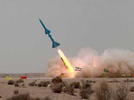 שיגור טיל אירני