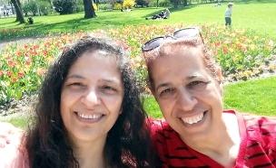 פירחיה סרוסי ולילי פרג' - נעדרות בארגנטינה  (צילום: חדשות)