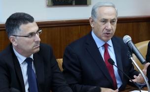 ראש הממשלה בנימין נתניהו עם גדעון סער (צילום: Marc Israel Selle/FLASH90, חדשות)