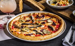 פיצה, מסעדת פומו (צילום: אפיק גבאי, יחסי ציבור)