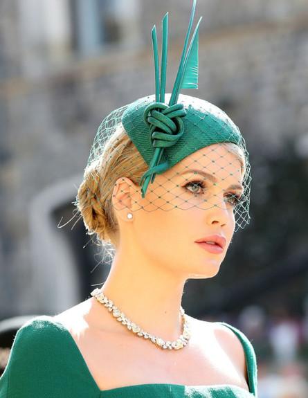 ליידי קיטי ספנסר בחתונתו של הנסיך הארי