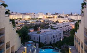 הנוף מהמלון (צילום: עמית גירון)