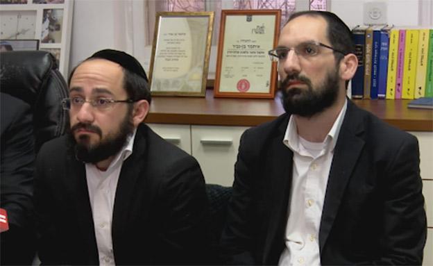 בניהם של הזוג כדורי שנרצחו בירושלים (צילום: החדשות)