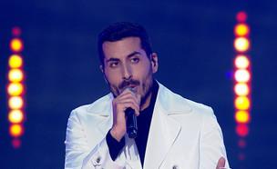 """קובי מרימי –""""Hallelujah"""" (צילום: מתוך """"הכוכב הבא לאירוויזיון 2019"""", קשת 12)"""