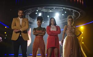 """קבלו אותם: רביעיית הגמר תיאור: מתוך """"הכוכב הבא לאי (צילום: מתוך """"הכוכב הבא לאירוויזיון 2019"""", קשת 12)"""