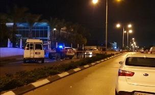 זירת הרצח (צילום: דוברות המשטרה, חדשות)