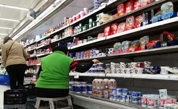 כמה המוצרים עולים לכל מגזר? (צילום: עזרי עמרם חדשות 2)