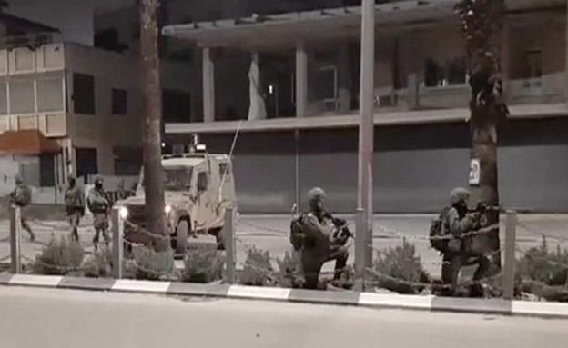 מעצר בראמללה (צילום: ללא, חדשות)