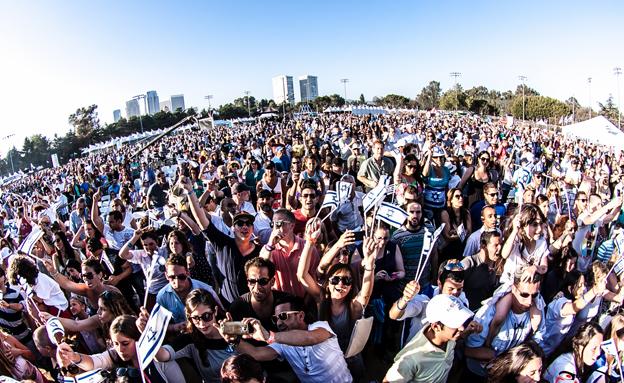 הישראלים מרוצים מהחיים (צילום: IAC, חדשות)