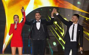 """קובי הזוכה (צילום: מתוך """"הכוכב הבא לאירוויזיון 2019"""", שידורי קשת)"""