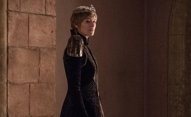 לנה הידי בתפקיד סרסיי לאניסטר (צילום: Helen Sloan / HBO)