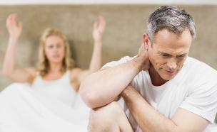 זוג מתוסכל במיטה (אילוסטרציה: kateafter | Shutterstock.com )
