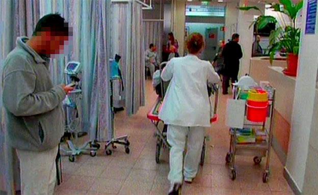 עומסים חריגים בבתי החולים, ארכיון (צילום: חדשות 2)