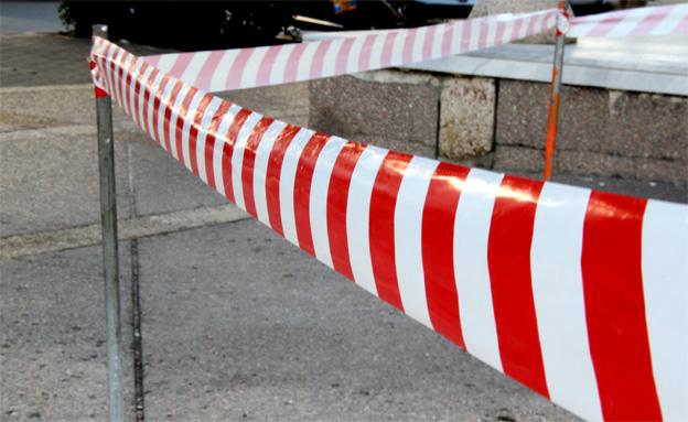ססל, איזור משטרתי סגור, זירת פשע, זירה (צילום: חדשות 2)