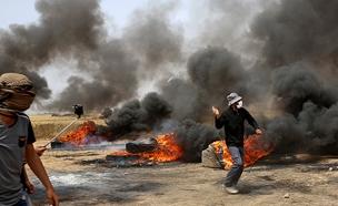 עימותים בעזה, ארכיון (צילום: AP, חדשות)