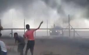 עימותים בגבול הרצועה, ארכיון (צילום: חדשות)
