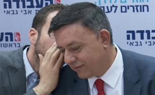 """""""להביא את ברק - התאבדות פוליטית"""" (צילום: החדשות)"""