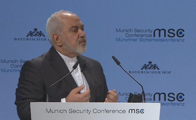 שר החוץ האירני, ג'וואד זריף (צילום: AP, חדשות)