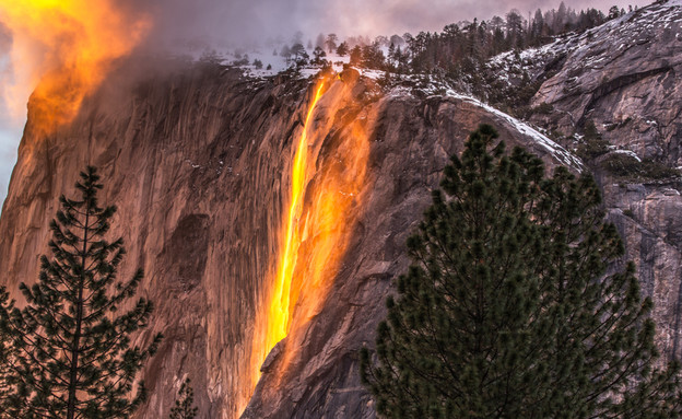 מפלי האש (צילום: Gregory B Cuvelier, shutterstock)