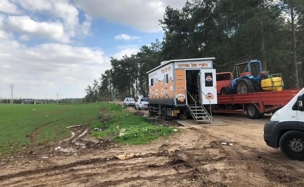 המשאית של דורי (צילום: איילה כהן, אוכל טוב)