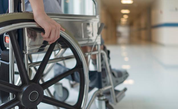 כיסא גלגלים, אילוסטרציה (צילום:  Peter Porrini, shutterstock)