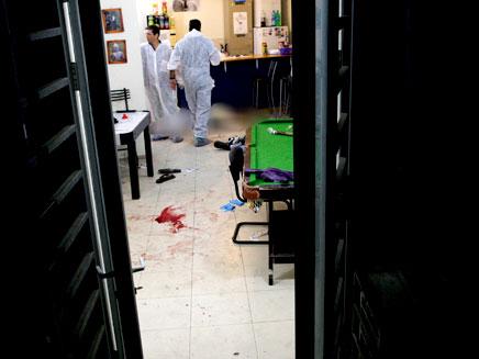 זירת הרצח בברנוער (ארכיון)