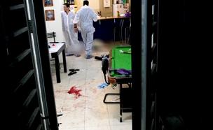 זירת הרצח בברנוער (ארכיון) (צילום: AP, חדשות)